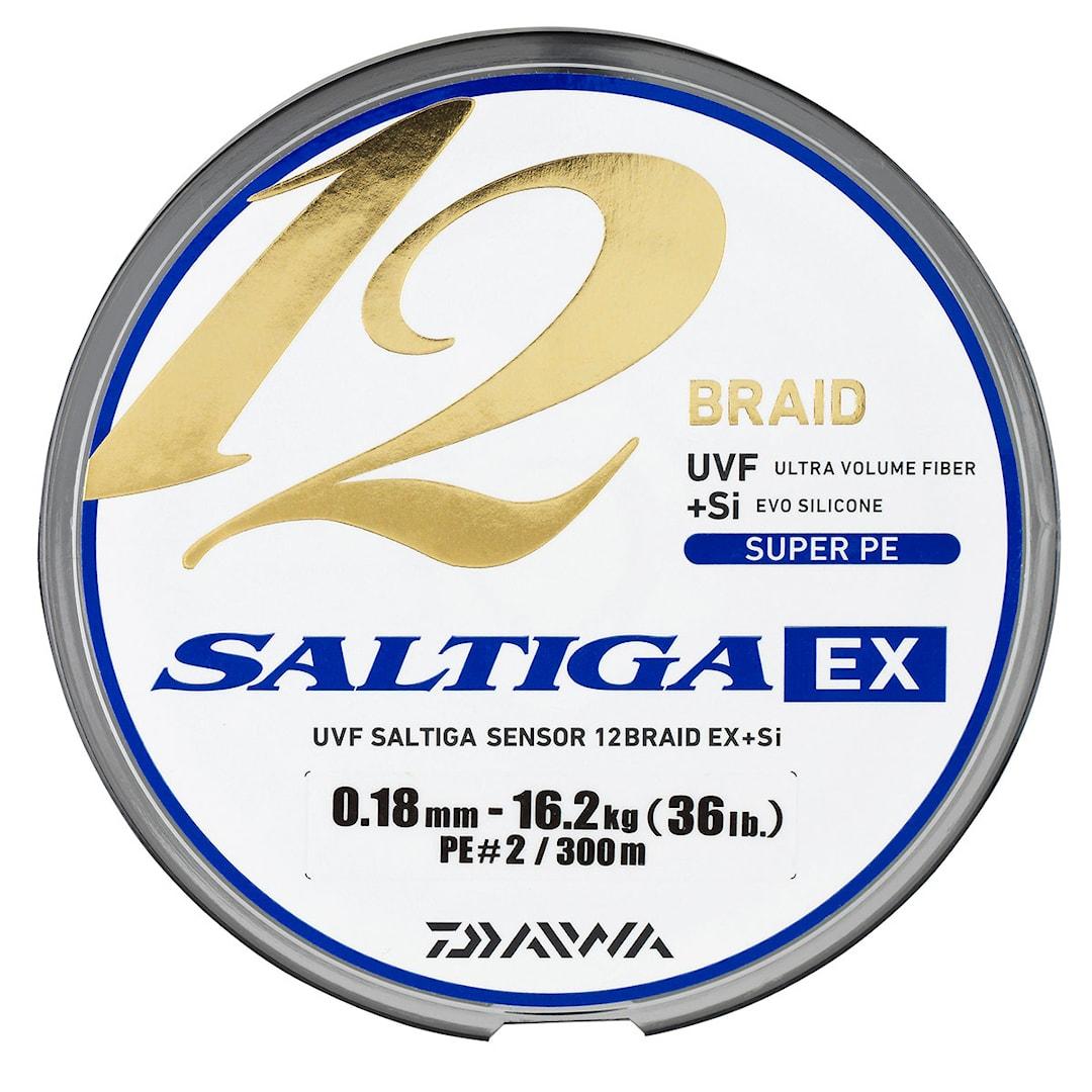 Daiwa Saltiga 12 EX multicolor flätlina