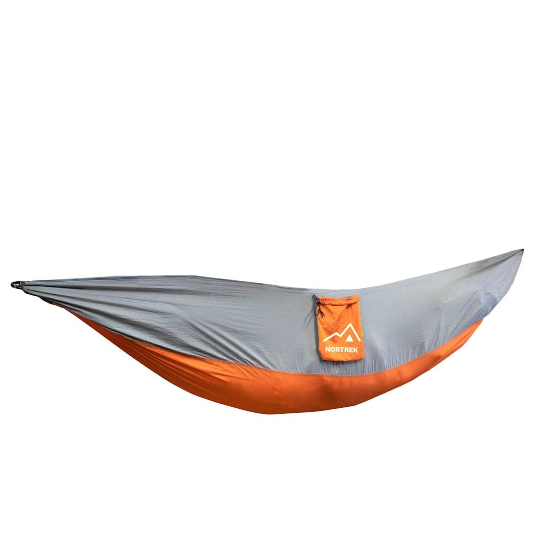 Nortrek hängmatta, orange-grå