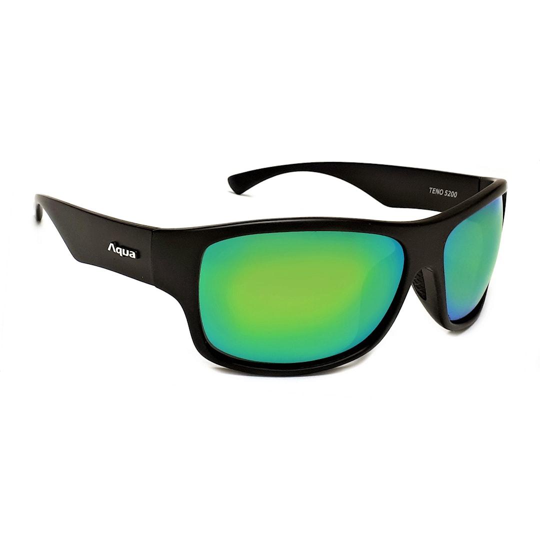 Aqua Teno solglasögon, Mirror Green
