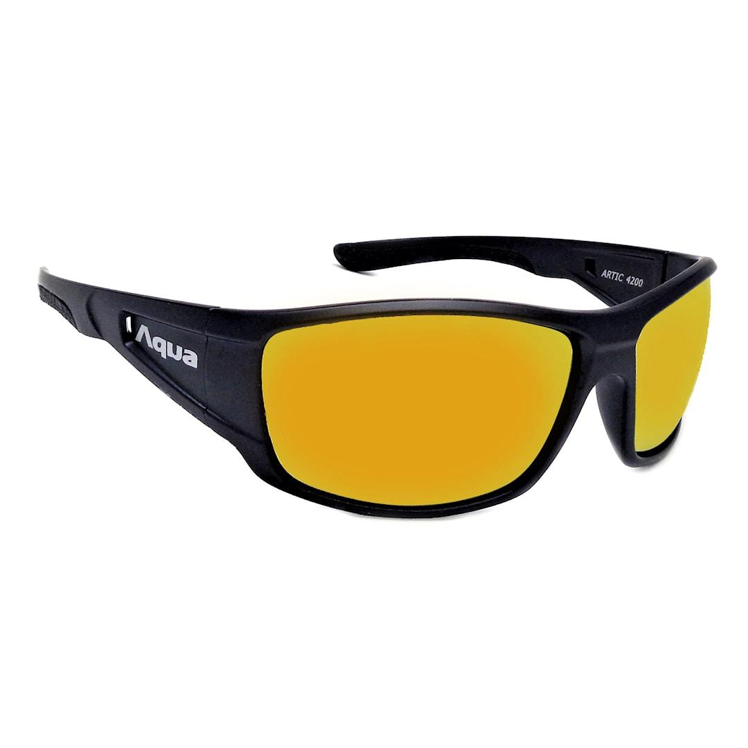 Aqua Arctic solglasögon, Mirror Gold