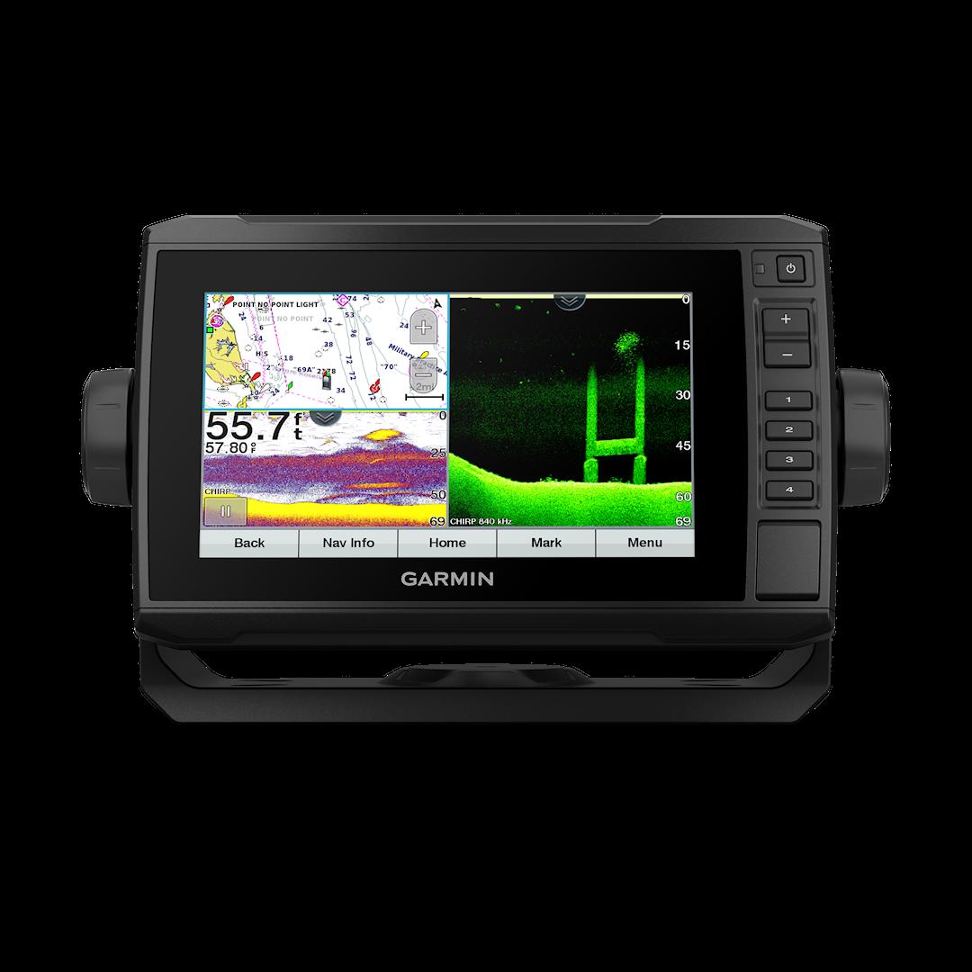 Garmin ECHOMAP 72cv UHD kombienhet med GT24UHD-TM givare