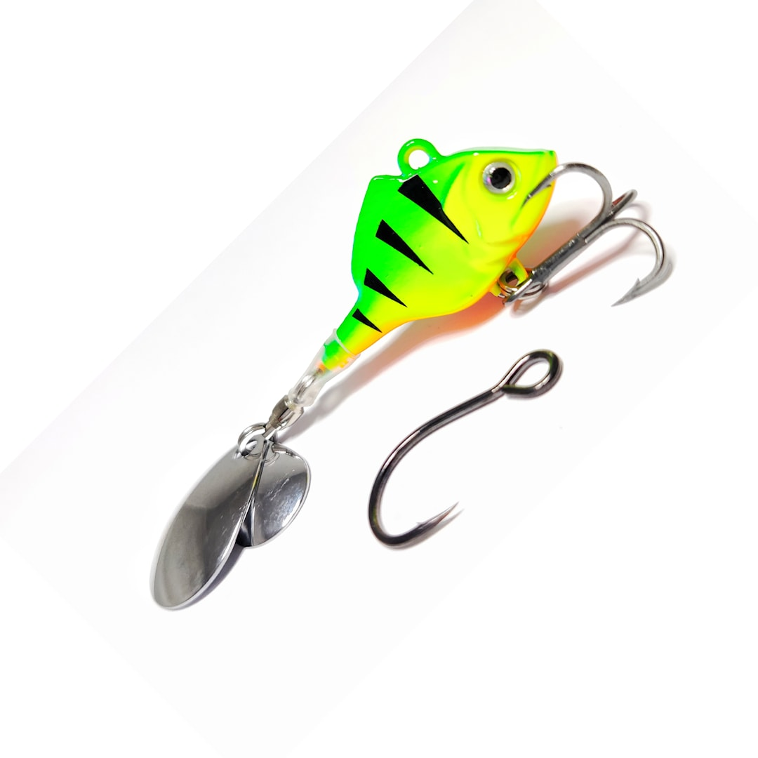 Ruthless Perch Spinner Color 08