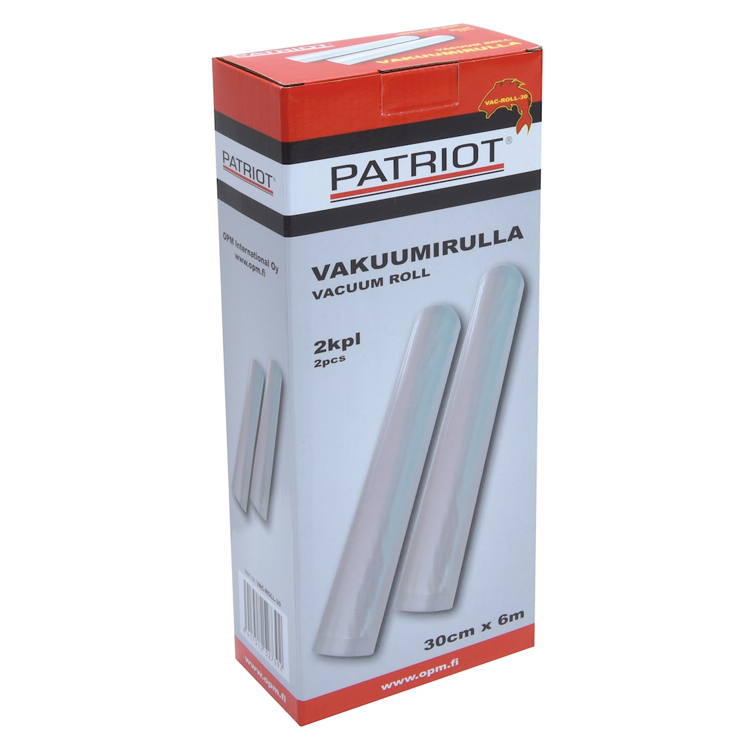 Patriot vakuumrulle 30cm x 6m 2st/pkt