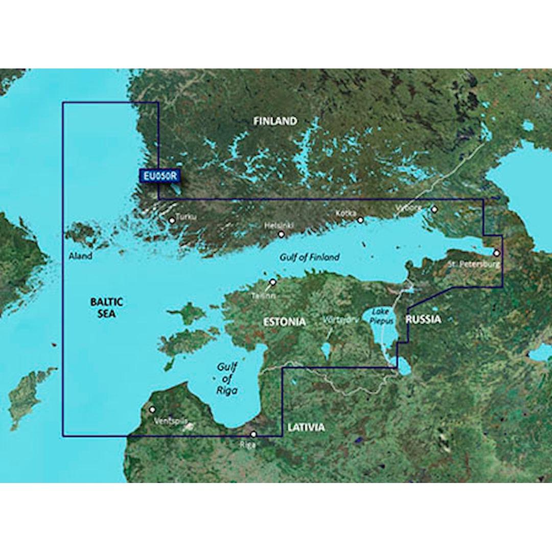 Garmin BlueChart g3 HD HXEU050R sjökort över Finska viken