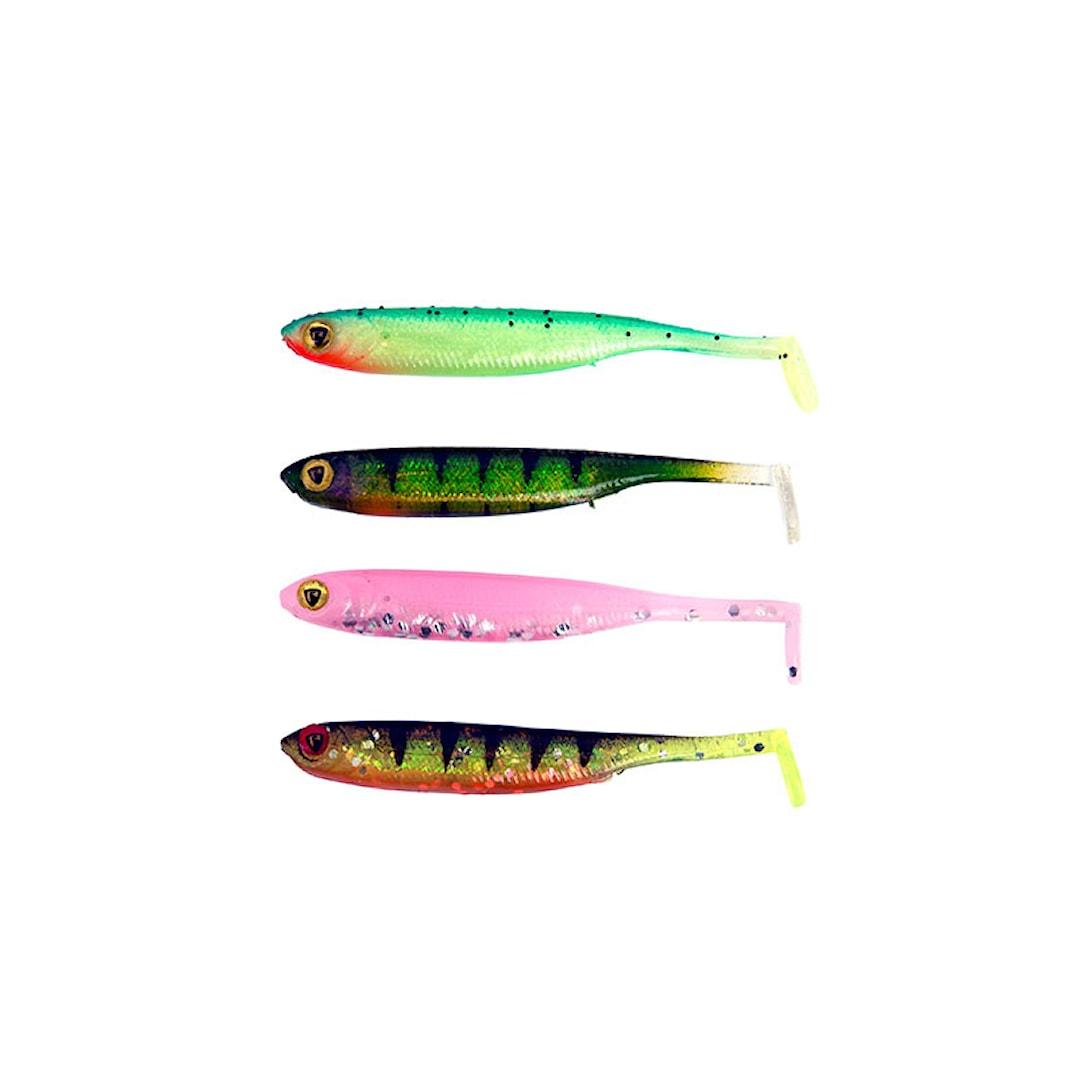 Fox Rage UV Micro Tiddler Fast 5 cm jiggsats 8st/pkt