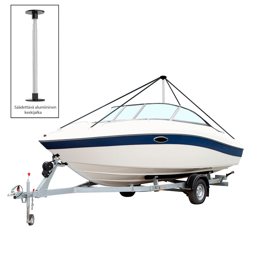 Boat Tech vinterförvaringsställning för max. 6m båt (4st sidolinor)