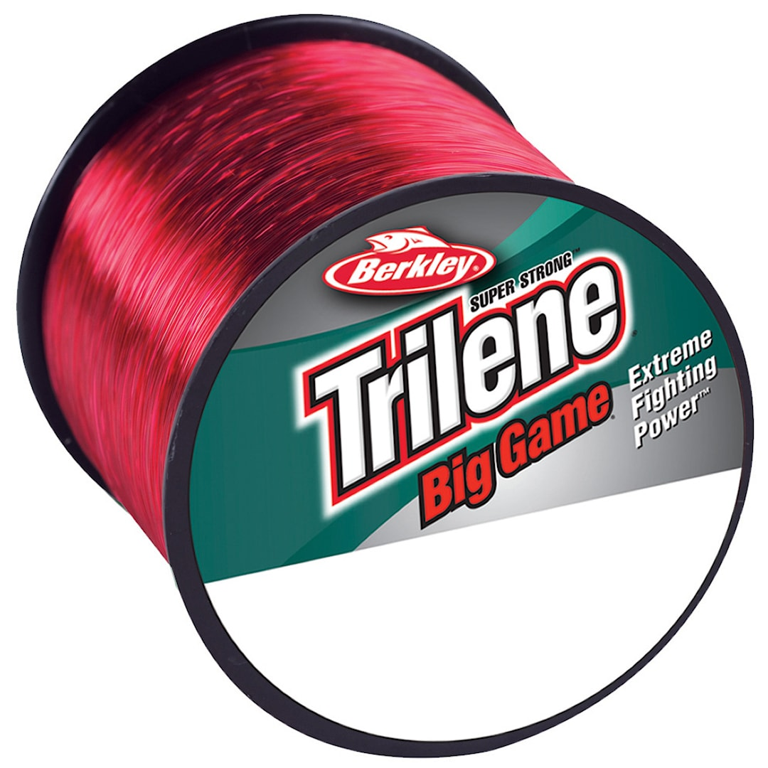 Berkley Trilene Big Game röd monofilament lina