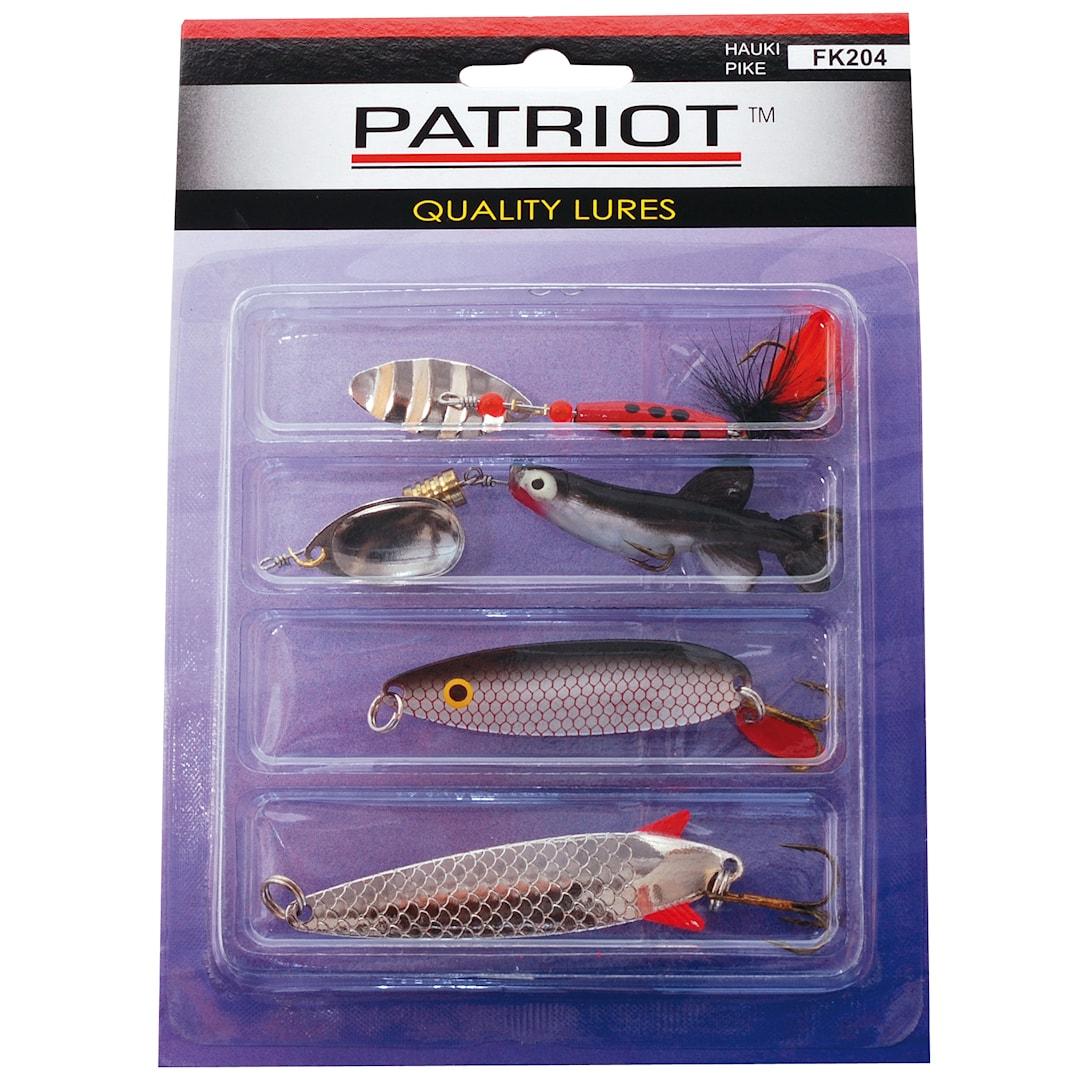 Patriot Gädda sortiment