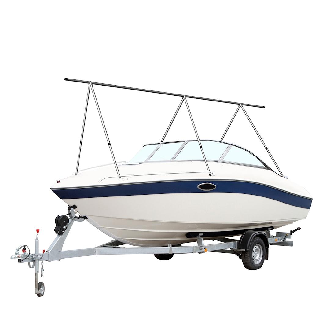 Boat Tech vinterförvaringsställning för max. 8m båt (8st sidostöd)