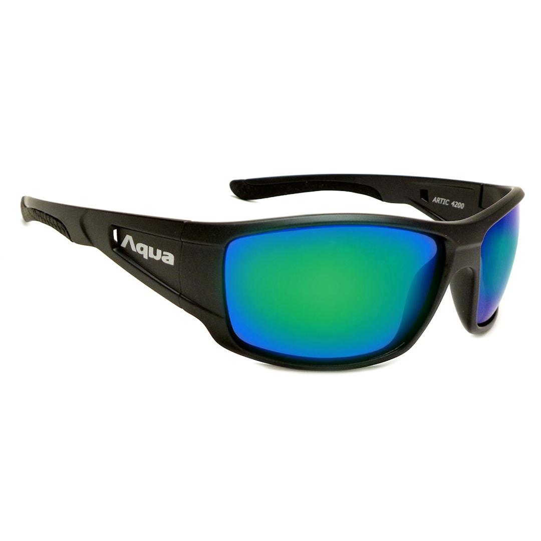 Aqua Arctic solglasögon, Mirror Green