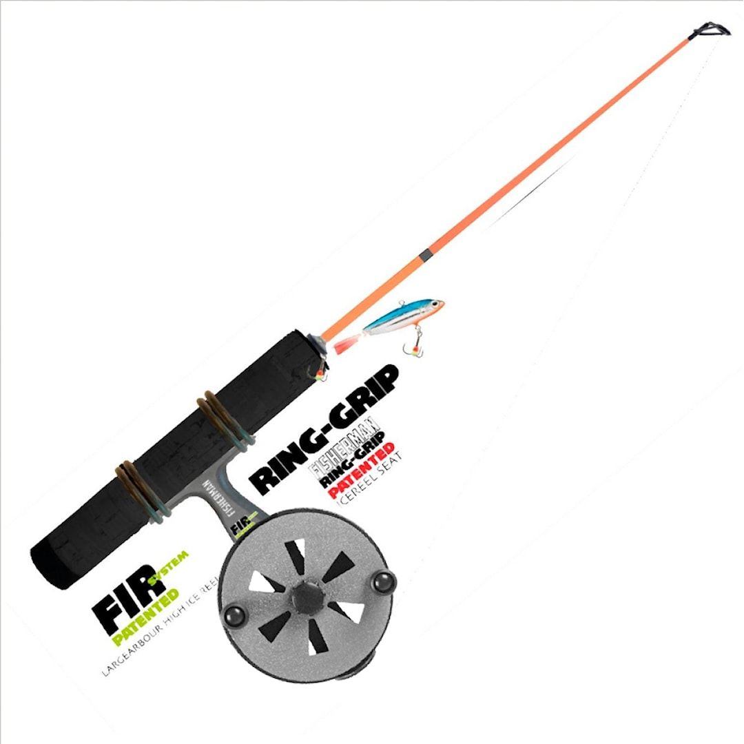 Fisherman Ring-Grip pimpelset 37 cm styvt + lätt balanspirk