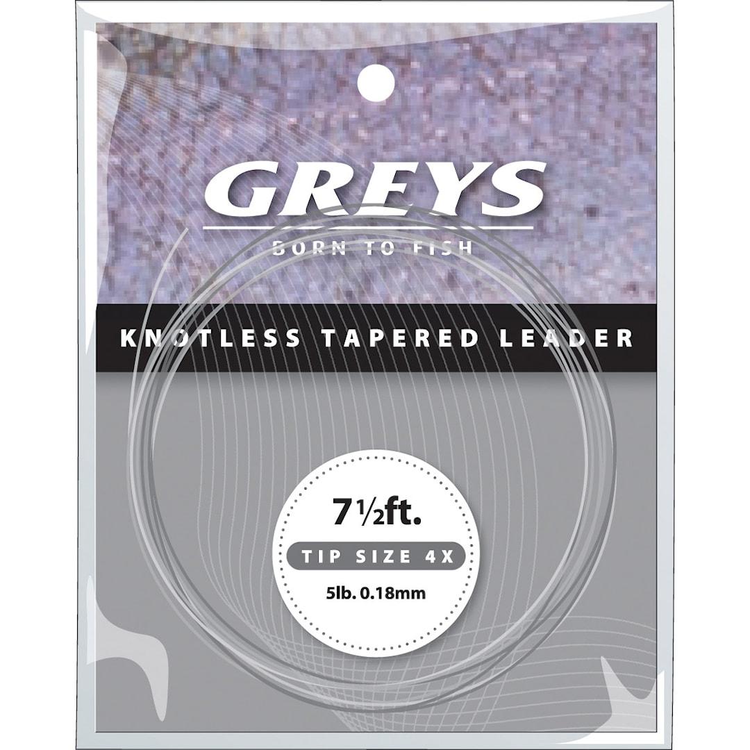 Greys Leader Tapered Greylon avsmalnande tafs