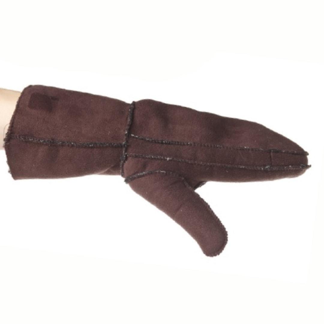 Snow Fox handskar i getskinn