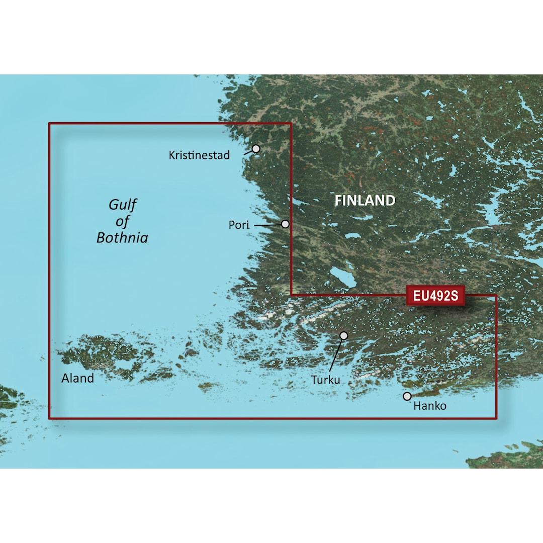 Garmin BlueChart g3 Vision HD VEU492S sjökort över Skärgårdshavet