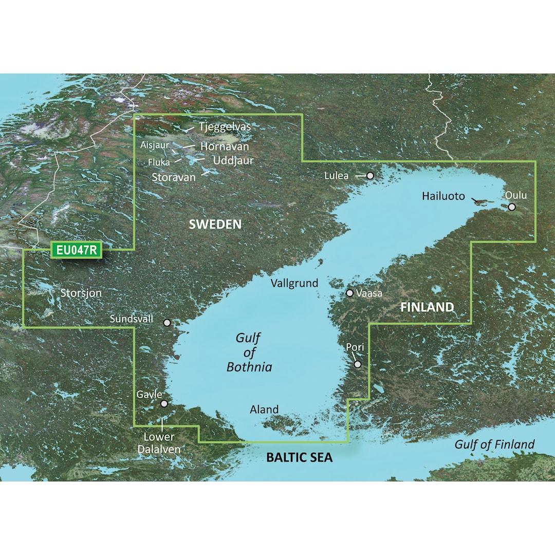 Garmin BlueChart g3 HD HXEU047R sjökort över Bottniska viken