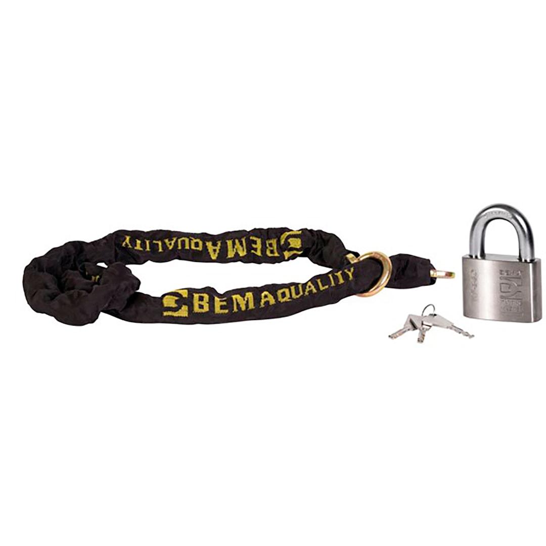 BEMA låspaket 2,5m kätting + lås