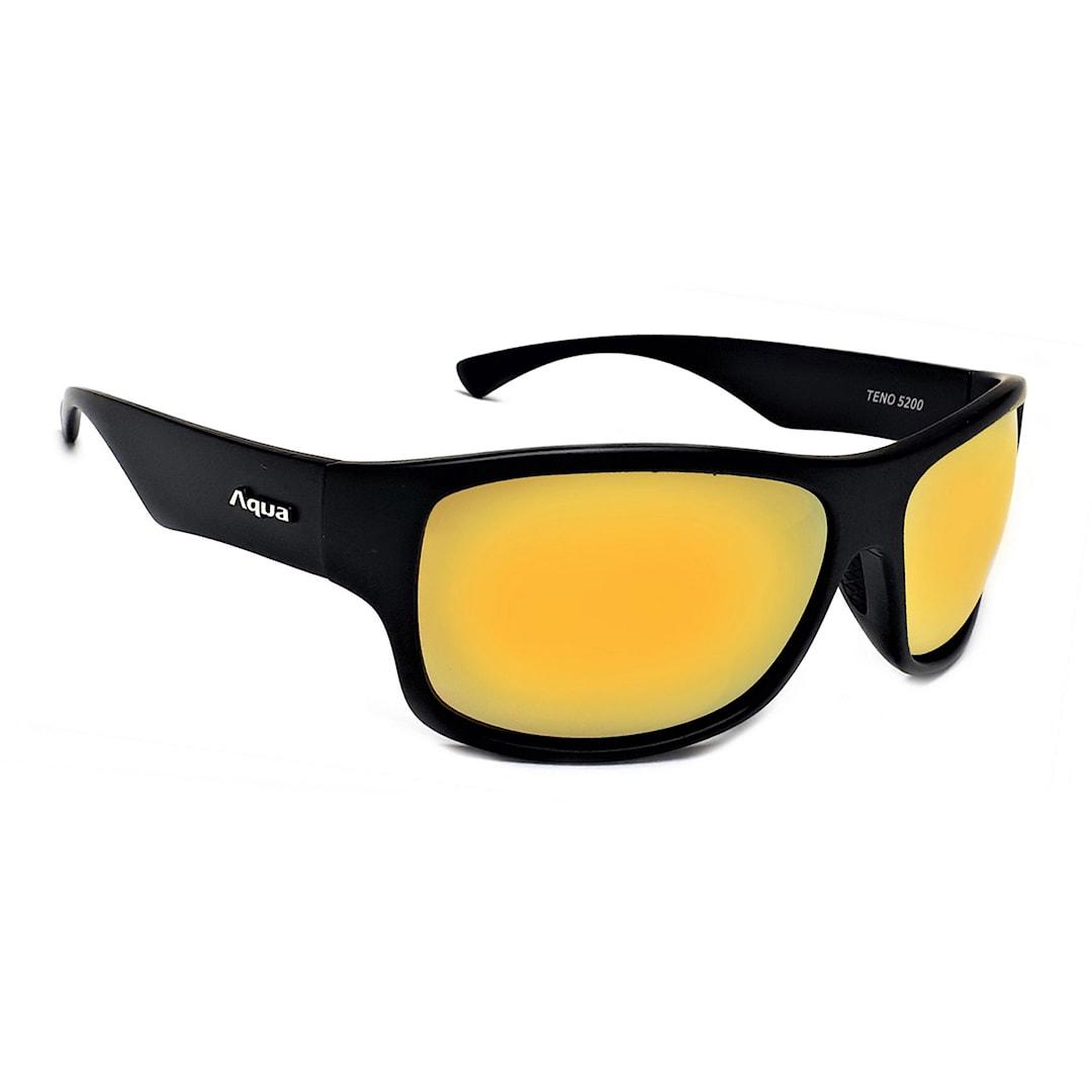 Aqua Teno solglasögon, Mirror Gold