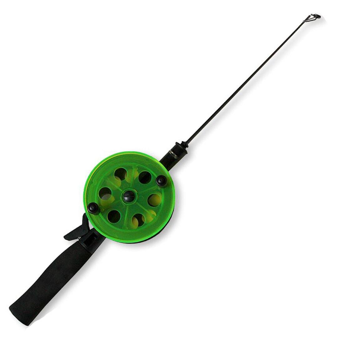 Easy Fishing 94 mm pimpelspö med glasfibertopp
