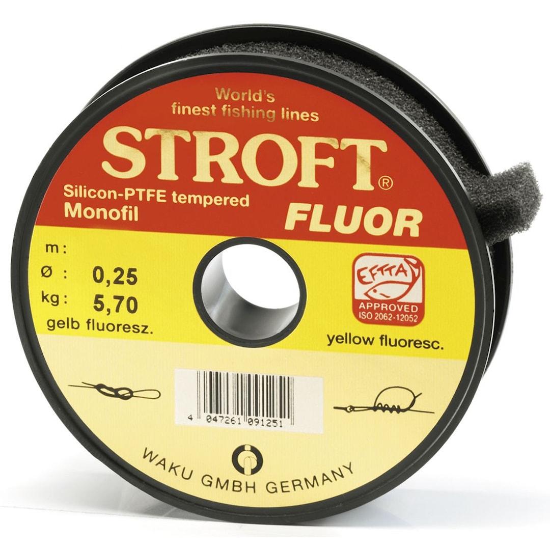 Stroft Yellow 25 m monofilament lina