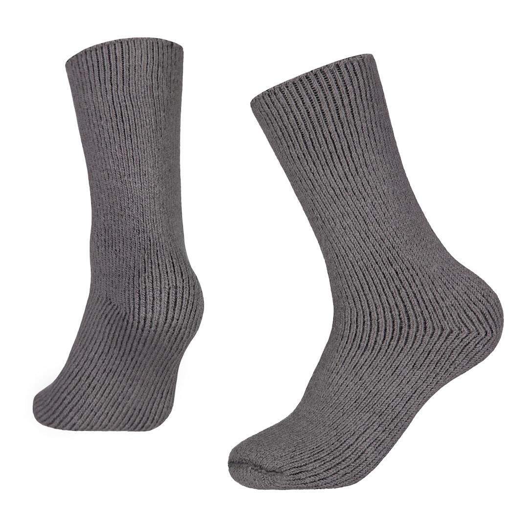 North Outdoor Merino 90 sockor Basic, mörkgrå